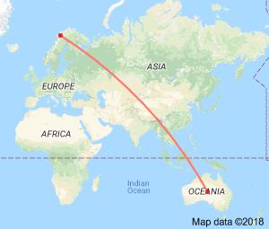 australia kart Kart Australia Setermoen   Reistadløpet
